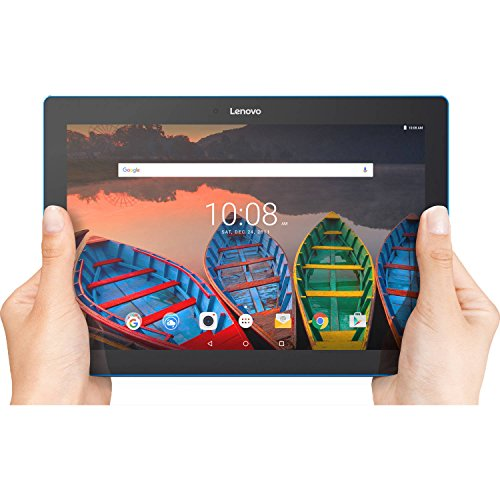 Lenovo-Tab-10-Tablet-101-HD-Touchscreen-Qualcomm-Quad-core-Processor-130GHz-1GB-Memory-16GB-Storage-Wifi-Bluetooth-Webcam-Up-to-10-hours-battery-life-Android-60-OS