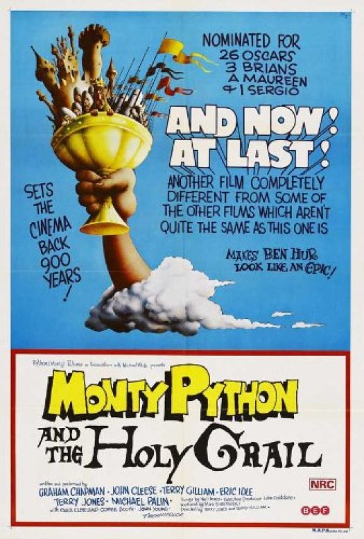 Image result for holy grail monty poster original