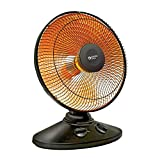 BOVADO USA Heat Dish Parabolic Electric Heater With Quick, Concentrated Heat- 14' Oscillating/Tilt Dish Heater- 70° Oscillation- With Timer Safety Shut- Safe To Handle- For Home/Office Use