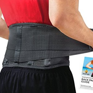 Back Brace by Sparthos – Immediate Relief for Back Pain, Herniated Disc, Sciatica, Scoliosis and more! – Breathable Mesh… 510KDtX0v L