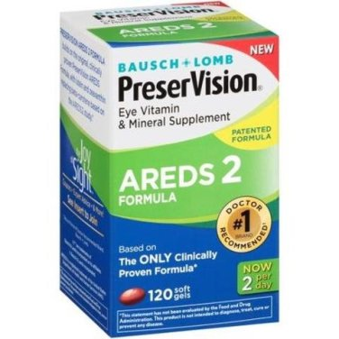 PreserVision AREDS 2 Vitamin & Mineral Supplement 360 Count Soft Gels , PreserVision-dg