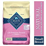Blue Buffalo Life Protection Formula Small Breed Dog Food - Natural Dry Dog Food for Adult Dogs - Chicken and Brown Rice - 15 lb. Bag