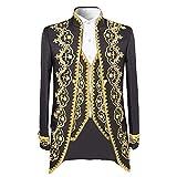 Product review for Cloud Style Men's 3 Piece Casual Dress Suit Slim Fit Stylish Blazer Coats Jackets & Vest & Trousers
