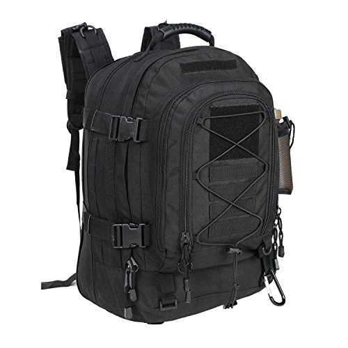 WolfWarriorX Military Tactical Assault Backpack for Men 3-Day Expandable...