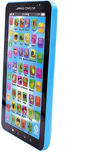 Toydirect P1000 Kids Educational Learning Tablet Toy (Blue) 3