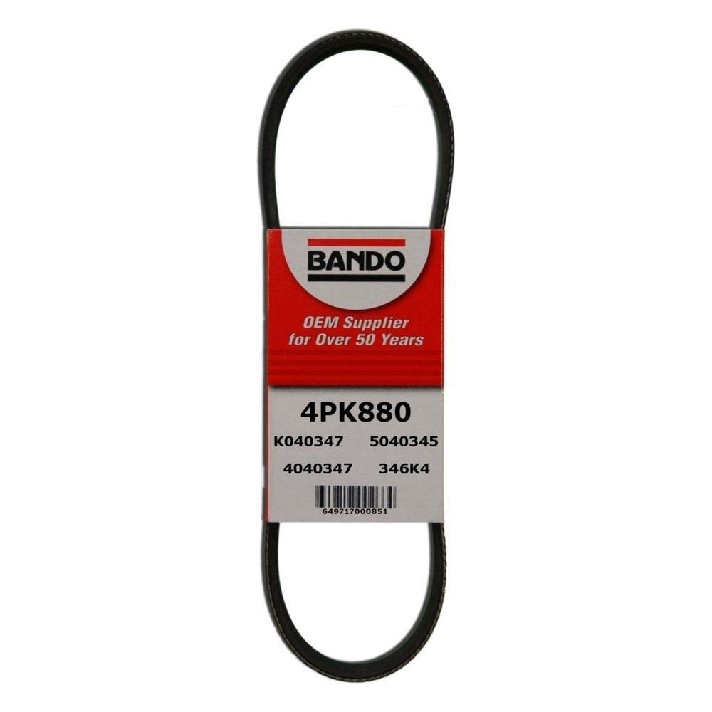 Best Power Steering Belt Bando USA 4PK880 Belts