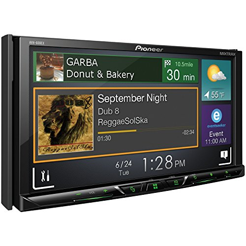 "Pioneer AVH-600EX in-Dash Receiver DVD Receiver w/ 7"" WVGA Display, Bluetooth, SiriusXM Ready and AppRadio"