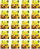 FILM WHOLESALE SunFlash Disposable Camera 35mm Film One Time Single Use D-10 FRESH 2020 (24-Pack)