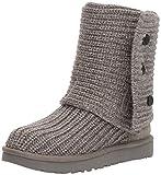 UGG Women's Classic Cardy Winter Boot, Grey, 8 B US
