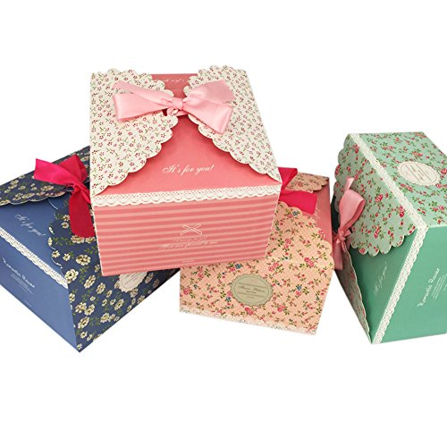 Chilly Gift Boxes Set Of 12 Decorative Treats Boxes Cake Cookies
