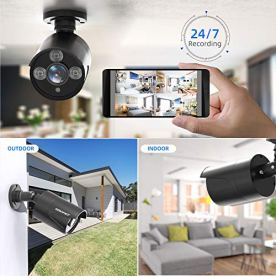 2021-NEW5MP-Home-Security-Camera-System8CH-DVR-Complete-Surveillance-Systems8pcs-5MP2560TVL251080P-Wired-CCTV-Bullet-Cameras-Indoor-Outdoor-Waterproof-Night-Vision-Motion-Detection-P2P-NO-HDD