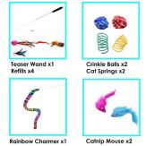 Youngever-Cat-Teaser-Feather-Toy-Retractable-Cat-Toys-Wand-with-Assorted-Teaser-Refills-Interactive-Feather-Teaser-Wand-Toy-Bell-Kitten-Cat-Having-Fun-Exerciser-Playing