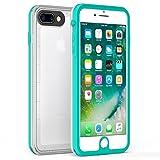 iPhone 8 Plus iPhone 7 Plus Waterproof Case, Fansteck Ultra Slim Durable Waterproof IP68 / High Sensitive Touch Screen Touch ID Waterproof Case 5.5 inch (Mint Green)