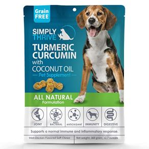 Turmeric-Curcumin-Supplement-for-Dogs-90-ct-Soft-Chew-Treats-Helps-With-Mobility-Hip-Joint-Arthritis-Coconut-Oil-Aids-Digestion-and-Immunity-Natural-Source-of-Antioxidant-Antiinflammatory