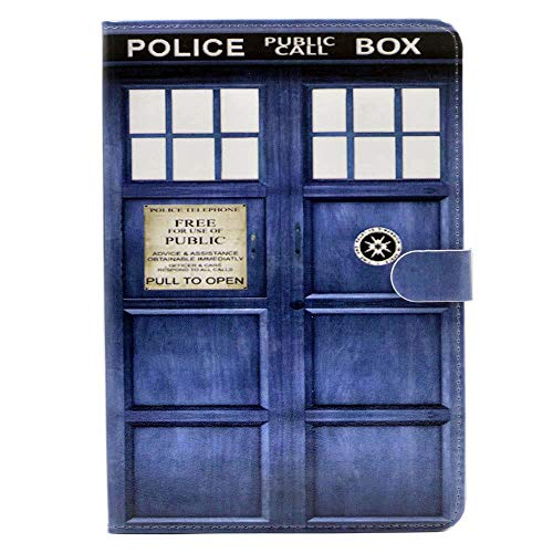 YHB ipad Mini 4 CASE Doctor Who Tardis Pattern Leather Flip Stand Case Cover for ipad Mini 4 4th New