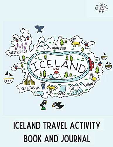 Iceland Travel Activity Book and Journal