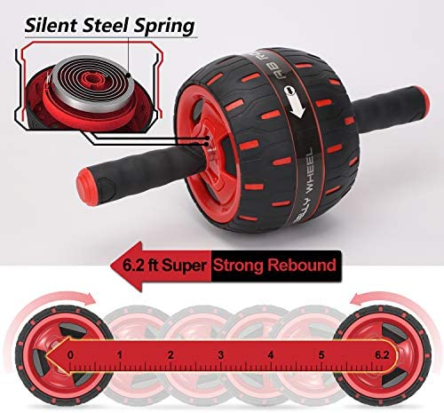 BLD Ab Roller, Core Fitness Resistance Equipment Wheel, Home Gym Exercise Machine 5