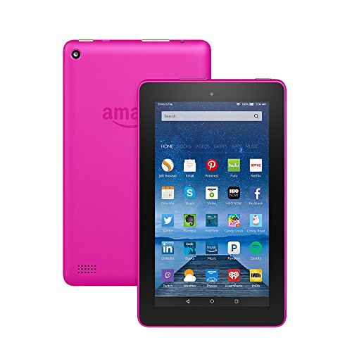 "Fire Tablet, 7"" Display, Wi Fi, 8 GB   Includes Special Offers, Magenta  Image of 510i3yBUrsL"