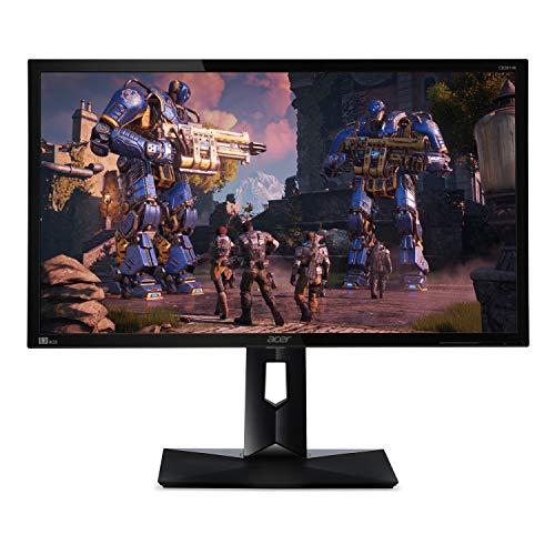 Acer CB281HK Abmiiprx 28' Ultra HD 4K2K (3840 x 2160) TN Monitor with AMD FREESYNC Technology (Display Port 1.2 & 2 - HDMI 2.0 Ports)