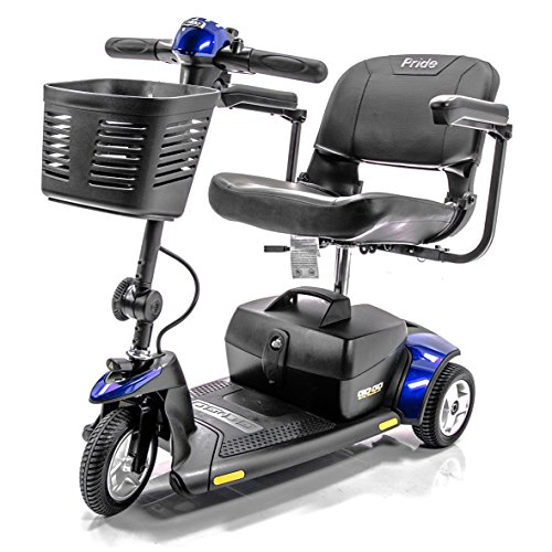 Go-Go Traveller Elite 3 Wheel Electric Scooter Pride Mobility SC40E + Challenger Accessory Bundle