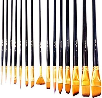 best quality oil painting brushes - Mont Marte