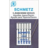 25 Schmetz Assorted Jeans Denim Sewing Machine Needles 130/705H-J Sizes 90/14, 100/16, 110/18