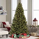 Best Choice Products 9ft Pre-Lit Spruce Hinged Artificial Christmas Tree w/ 900 UL-Certified LED Lights, Foldable Stand - Green