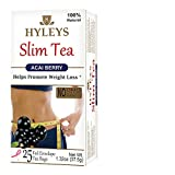 Hyleys Tea Slim Tea, Acai Berry, 1.32 Ounce