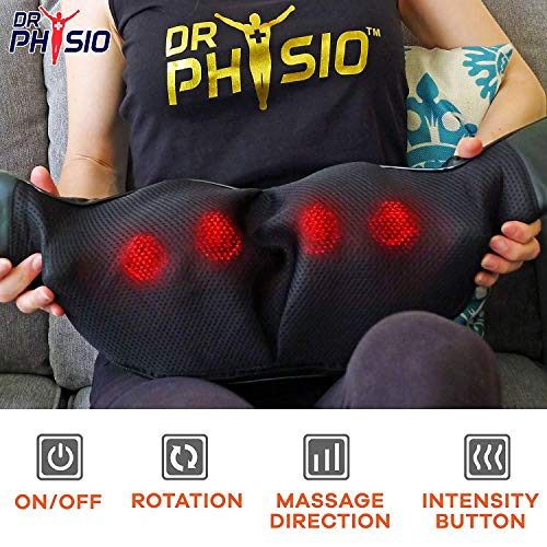 Electric Heat Shiatsu Machine Body Massagers