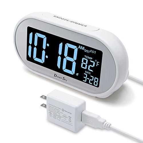 DreamSky Auto Time Set Alarm Clock