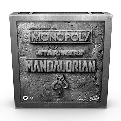 Monopoly-Star-Wars-The-Mandalorian-Edition-Board-Game-Protect-The-Child-Baby-Yoda-from-Imperial-Enemies