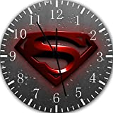 "Superman Super Man Wall Clock 10"" Will Be Nice Gift and Room Wall Decor W223"