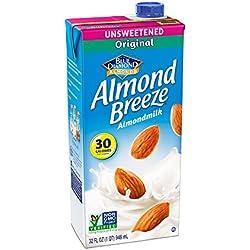 Almond Breeze Almondmilk, Unsweetened Original, 32 Fluid Ounce