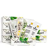 7-Day Organic Juice Cleanse Weight Loss | Smart Pressed Juice | Detox Shake Fat Burner Program | Cold-Pressed Green Juice | Beets Chia Fiber Protein Celery