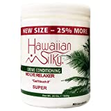 Hawaiian Silky Hawaiian silky no lye super relaxer 20 ounce, White, 20 Ounce