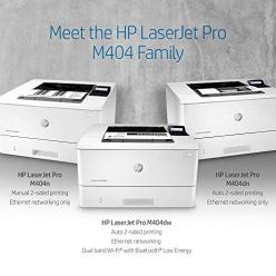HP-LaserJet-Pro-M404dn-Monochrome-Laser-Printer-with-Built-In-Ethernet-Double-Sided-Printing-W1A53A-Ethernet-OnlyBlack