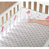 Child of Mine by Carter's Little Birds and Friends Fresh Air Crib Liner