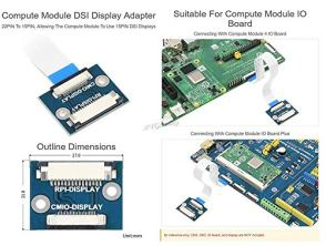 Compute-Module-DSI-Display-Adapter-22PIN-to-15PIN-Suitable-for-Compute-Module-IO-Board-XYGStudy-cm-DSI-Adapter