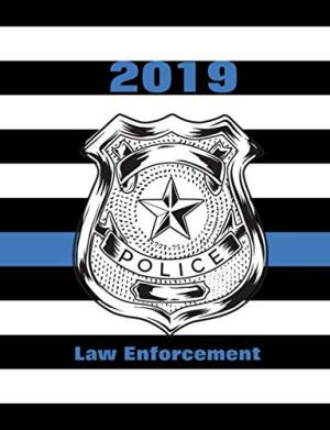 2019 Law Enforcement: Thin Blue Line US Flag