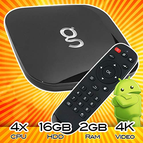Matricom G-Box Q² Android TV Streaming Media Mini PC [2GB/16GB/4K] Quad/Octo Core