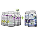 Colon Cleanser Detox for Weight Loss & Garcinia Cambogia Extract 1000mg Bundle – 14 Day Diet Pills, Metabolism Booster, Carb Blocker, Fat Burner & Appetite Suppressant for Men & Women