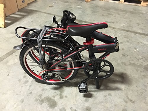 Dahon Speed D7 Obsidian Red Folding Bike Bicycle - Buy ...