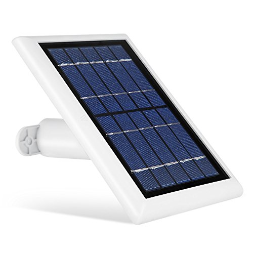Solar Panel for Ring Spotlight Camera, Power Your Ring Spotlight Cam continuously with Our New Solar Charger – by Wasserstein