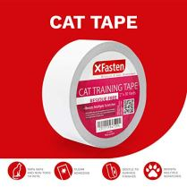 XFasten-Anti-Scratch-Cat-Training-Tape-Clear-2-Inches-x-30-Yards-Door-Couch-Furniture-and-Leather-Stop-Scratching-Guard-Protector-Tape-for-Cats