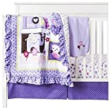 Circo Love N' Lilacs 4pc Baby Girl Crib Bedding Set