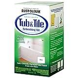 Rust-Oleum 7860519 Tub and Tile Refinishing 2-Part Kit, White
