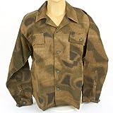 German WWII Wehrmacht M45 Linen Sumpftarn Pattern Jacket- Size XL (US 46+)