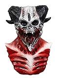 Bloody Zombie Scary Latex Full Overhead Masks Devil Skull Demon Mask Skeleton Goat Monster Adult Halloween Costume Mask
