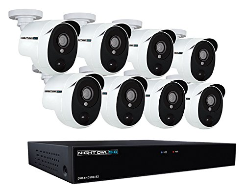 Night-Owl-XHD502-88P-B-8-Channel-5MP-Extreme-HD-Video-Security-DVR-Wired-Infrared-Cameras-with-2-TB-HDD-White