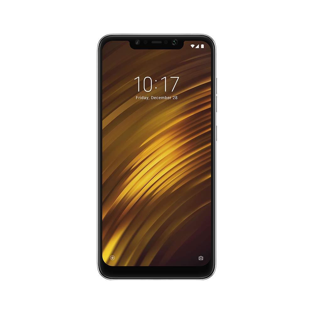 Xiaomi Pocophone F1 Smartphone débloqué 4G (Ecran: 6,18 pouces - 64 Go - Double SIM - Android) Noir Graphite